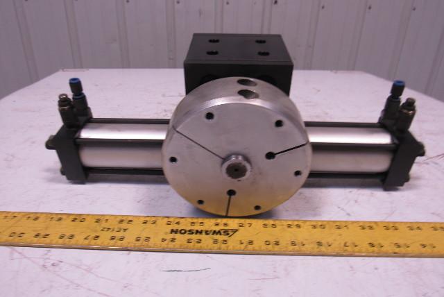 Norgren 400CA-1BA-AA400 Pneumatic Rotary Actuator 2X180 Degrees 150PSI Max