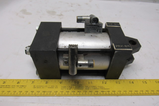 "Norgren EJ1255A3 Rev 3 Pneumatic Air Cylinder 2-1/2"" Bore 2"" Stroke 150PSI"