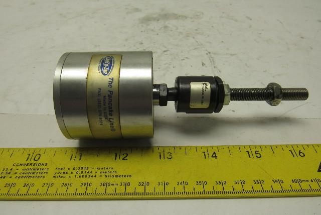 """Fabco Air E-121-X Pancake Air Cylinder 1-1/4"""" Bore 1"""" Stroke"""