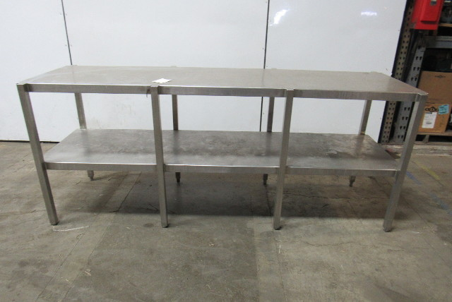 Tremendous Custom Fab Stainless Steel Parts Assembly Lab Work Bench 24 X 90 X 36 Tall Cjindustries Chair Design For Home Cjindustriesco