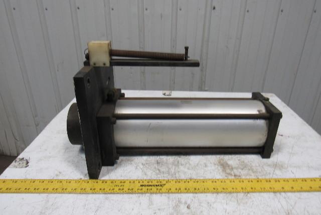 "Rockford Air Pneumatic Air Tie-Rod Cylinder 6"" Bore 17"" Stroke"