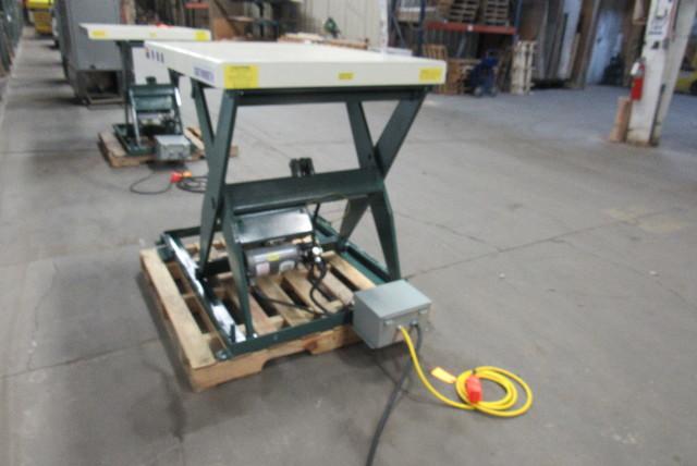 Southworth Ls2 36 2000lb Hydraulic Scissor Lift Table 48