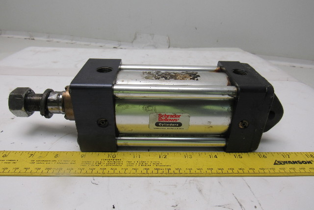 """Schrader Bellows FW2C118421 3.00 3"""" Bore 3"""" Stroke Double Acting Air Cylinder"""