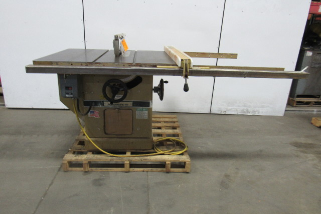 Powermatic Model 72a 7 5hp 14 Quot Tilt Table Saw W Fence