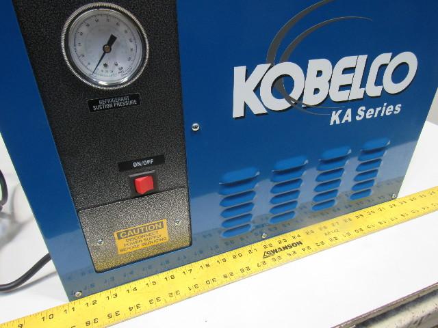 Details about Kobelco KRD-60 60PSI 60CFM 115V 1Ph 60Hhz Refrigerated  Compressed Air Dryer