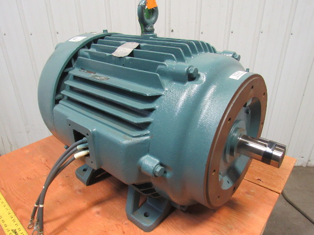 Baldor 100hp Electric Motor 444tsc Frame 460v Ph 1180rpm
