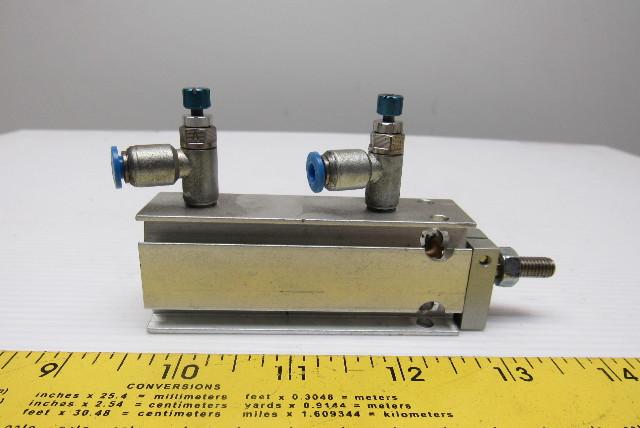 Festo DMML-16-30-P-A Compact Air16 Bore 30mm Stroke Flex Cush Sensor Ready