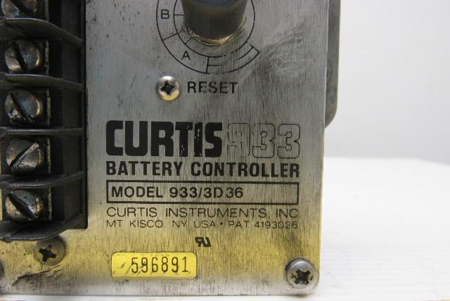 Curtis 933/3D 36 36V Battery Controller