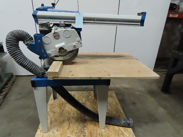 "Omga RN700 230/460V 14"" 3400RPM 5Hp Radial Arm Saw 36-5/8"" Rip Capacity"