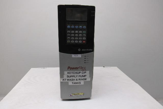 Allen Bradley 20BD011A0AYNAND0 SER  B PowerFlex 700 7 5Hp
