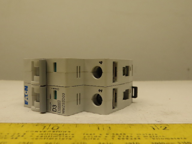 Eaton Cutler Hammer WMZS2D25 25AMP 2Pole Circuit Breaker DIN Rail Mount
