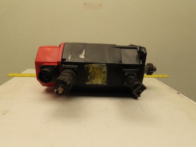 Fanuc A06B-0162-B175 aM6/3000 1 4kW 3000RPM 144V 200Hz AC Servo Motor