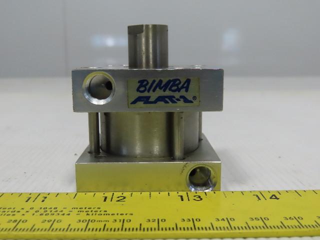 "Bimba Flat-1 1-1/2"" Bore 1/2"" Stroke 5/8"" Rod Air Cylinder"