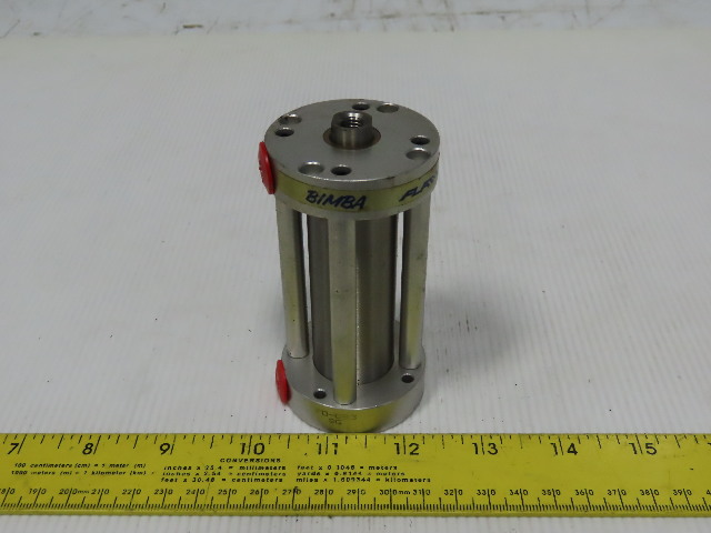"Bimba FO-093 1-1/8"" Bore 3"" Stroke 1/2"" Rod Air Cylinder"