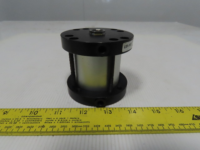 """Lin-Act STHC-2.00x1.75-4 2-1/4"""" Bore 1-3/4"""" Stroke 3/4"""" Rod Air Cylinder"""