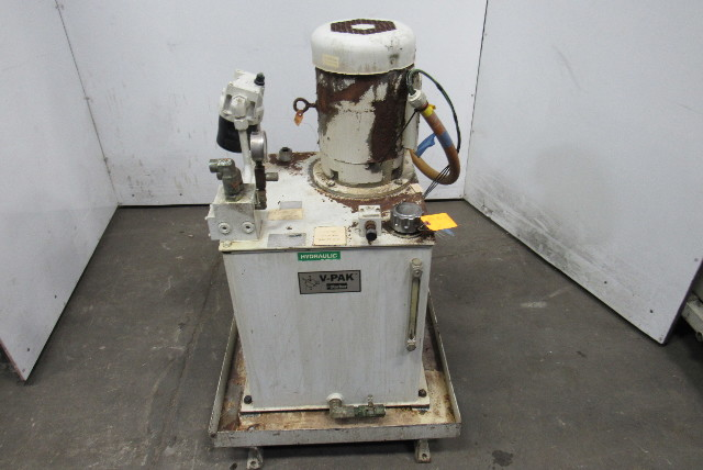 Parker V310M0PNX10553/10 V-Pak 7.5Hp Hydraulic Power Unit 37.9 Gal Reservoir