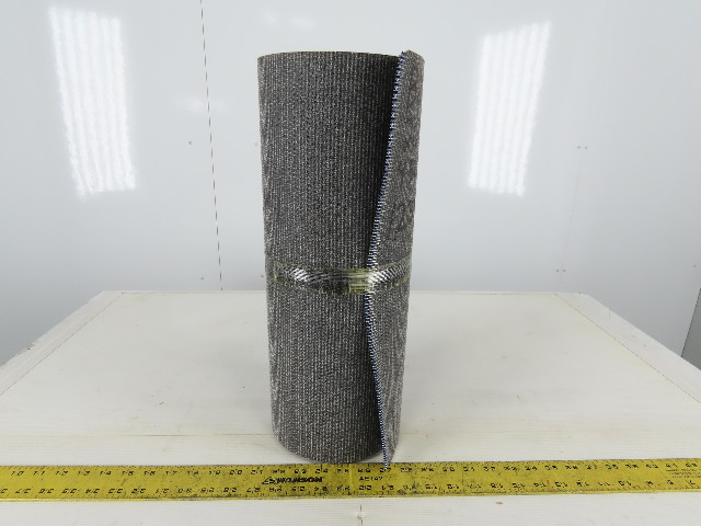 "Sparks 18"" Interwoven 2 Ply Rough Top Incline Conveyor Belt 20'"