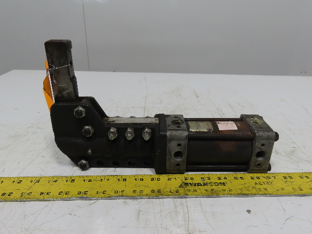 "Norgren FU106 A 2A S1 2 1/2 Pneumatic Power Clamp 2-1/2"" Stroke 14"
