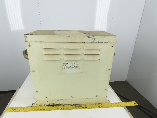 Dongan 84-6000-3910 60.0 KVA 3-Phase Auto Transformer 480HV 208Y/120LV