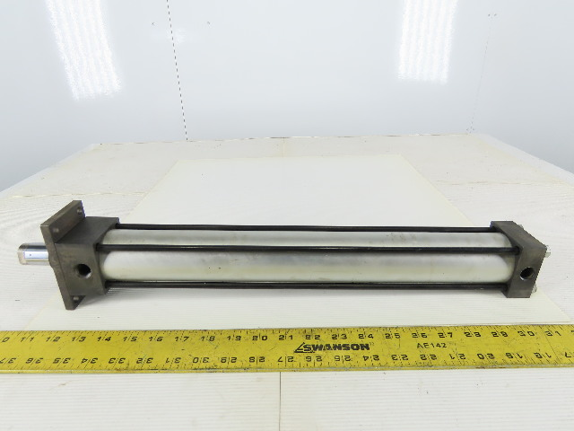 "Norgren EJ0377B3 Pneumatic Air Cylinder 2"" Bore 16"" Stroke"