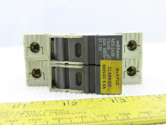 Portafusibles 10x38 690V DC Exclusive