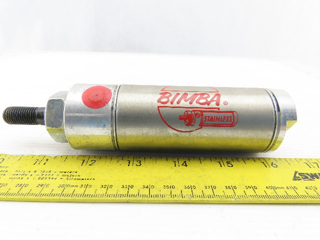 "Bimba 172-D 1-9/16"" Bore 2"" Stroke Double Acting Air Cylinder"