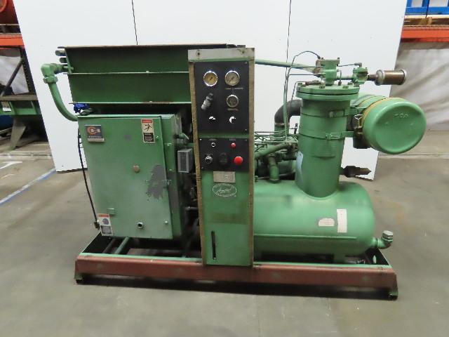 Sullair 16-75L 480V 75Hp 110PSI 350CFM Rotary Screw Air Compressor 9561.11 Hrs.