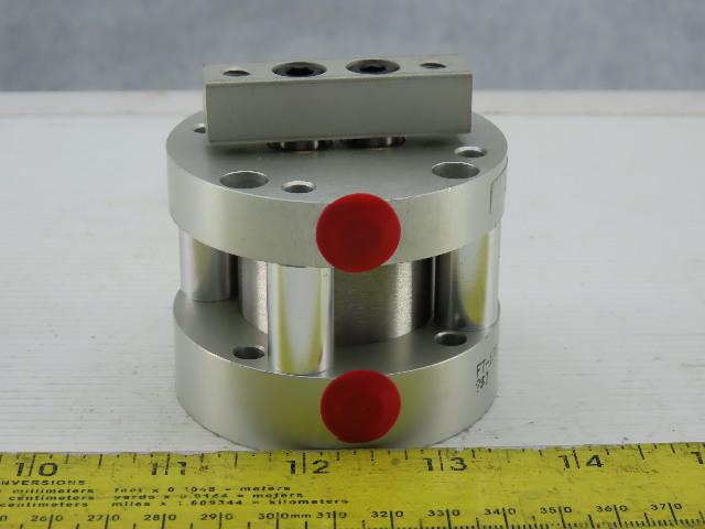 """Bimba FT-170.75 1-1/2"""" Bore 3/4"""" Stroke Non Rotating Dual Rod Air Cylinder"""