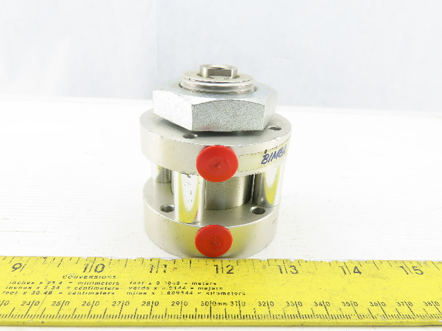 "Bimba FO-171-5 Flat-1 1-1/2"" Bore 1"" Stroke Double Acting Air Cylinder"