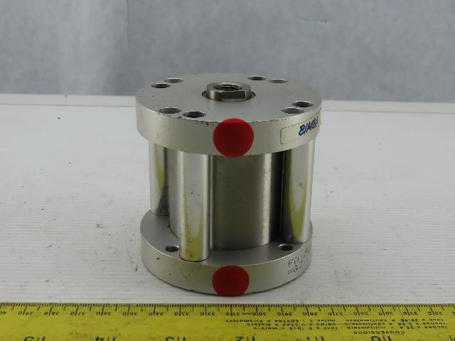 "Bimba FO-312 Flat-1 2"" Bore 2"" Stroke Double Acting Air Cylinder"