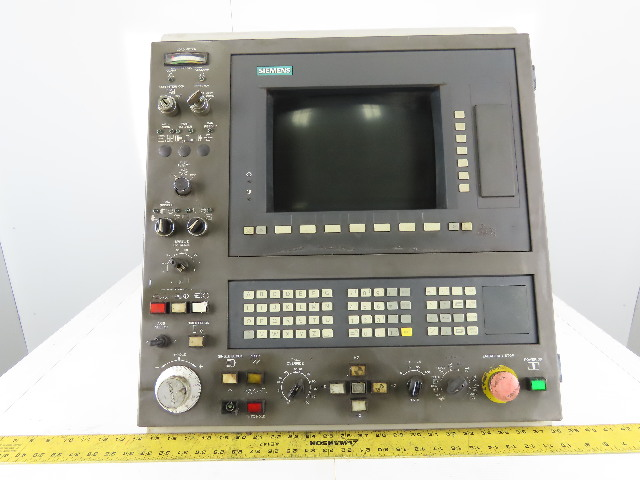 Siemens Simatic Hyundai  CNC Lathe HIT15S Operator Interface Unit w/Monitor