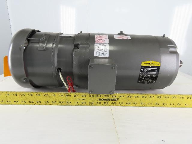 Baldor 5/2-1/2Hp Electric Brake Motor 460V 1725/850RPM 215TC Frame