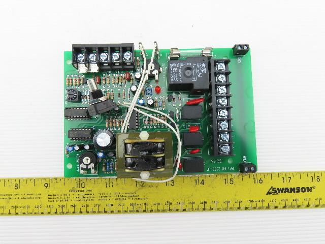 Premier Pneumatics MCC 2139-10 Feeder Control Board