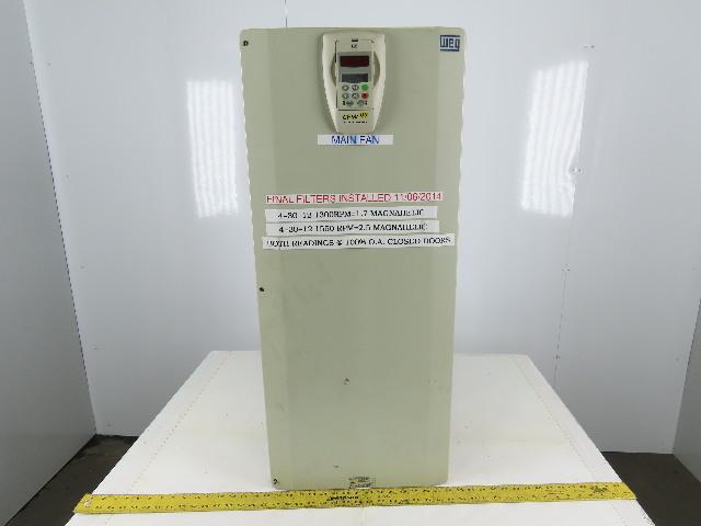 WEG USCFW090180T3848ESZ CFW 09 Adjustable Vecture Inverter Drive 380-480V 3-191A