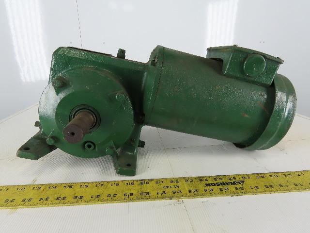 Reeves Master XL 56WG21A 2Hp Gear Motor 208-230/460V 3Ph 12.7:1 Ratio