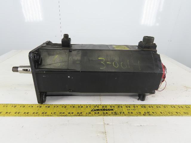 Fanuc A06B-0502-B755 Model 20S 2000 RPM 146V AC Servo Motor