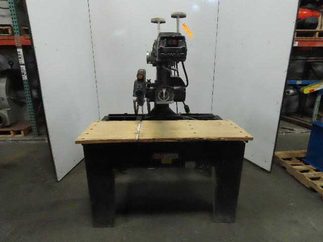 """Black & Decker DeWalt 3571 7.5Hp 16"""" Industrial Radial Arm Saw 230/460V 3Ph"""