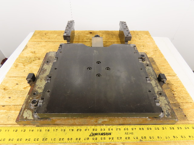 "27-1//2 x 39-1//4/"" Plate Steel 3//4/"" Thick Layout Setup Workholding Jig"