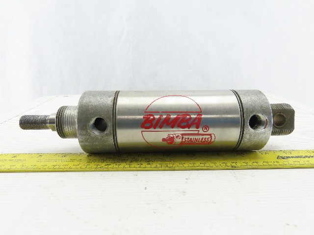 "Bimba MRS-502.5-DXP 2-9/16"" Bore 2-1/2"" Stroke Double Acting Air Cylinder"
