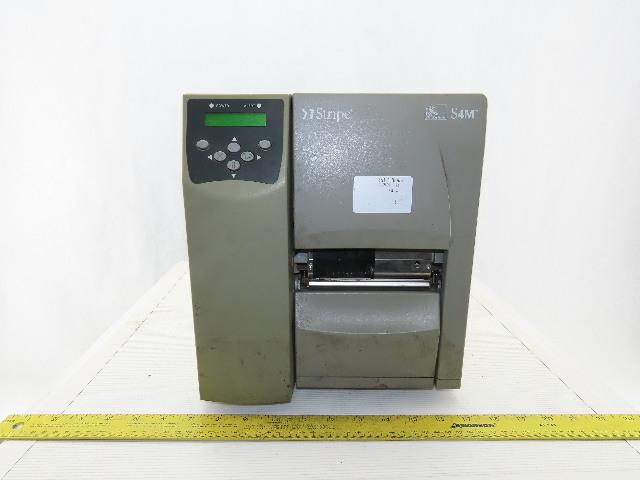 Zebra S4M00-2001-0200T Stripe Thermal Transfer Label Printer
