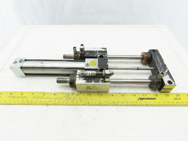"phd SDB23X5-DB-GI-J 1-1/4"" Bore 4"" Stroke Double Acting Guided Cylinder"