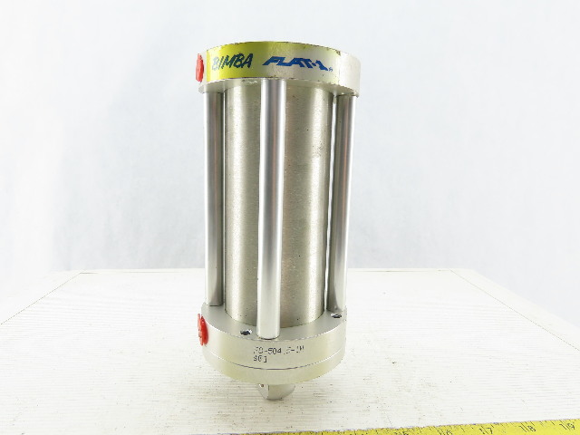 "Bimba FO-504.5-1M 2-1/2"" Bore 4-1/2"" Stroke Double Acting Air Cylinder"