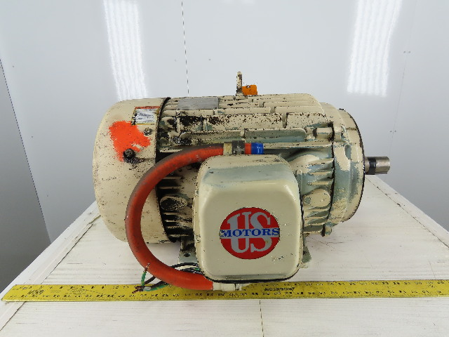 US Motors R109A 20Hp Electric Motor 460V 3PH 326U Frame 1179 RPM