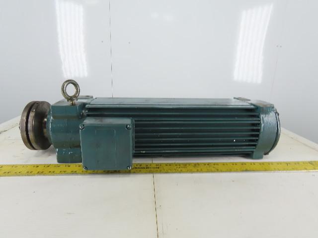 """ACC Himmel K75 LP/2 15HP Saw Arbor Motor 230/460V 3Ph 3510RPM 1"""" Left Hand"""