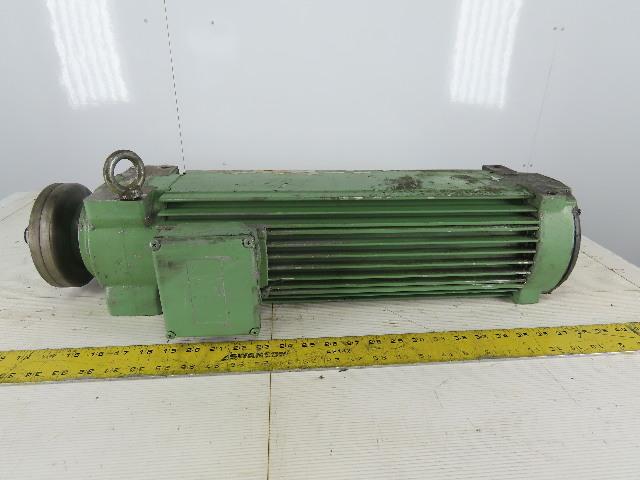 """ACC Himmel 15HP Saw Arbor Motor 230/460V 3Ph 3510RPM 1-1/16"""" Left Hand"""