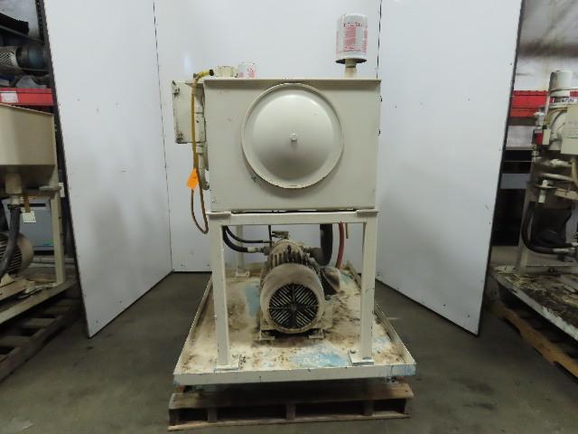 10Hp Hydraulic Power Unit 60 Gal PKC62N00 Pump 460V 3Ph