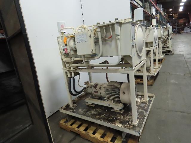 Rexroth 10Hp Hydraulic Power Unit 60 Gal PKC62N00 Pump 460V 3Ph