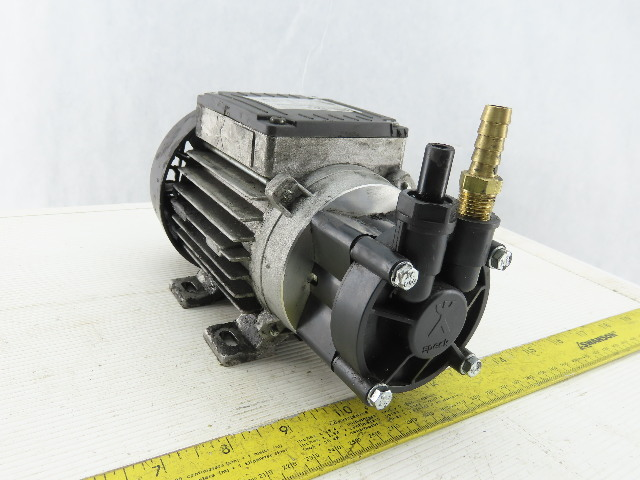 "Speck Pumpen Y-2951.0098 Transfer Pump 230V 1Ph 1/4"" in 1/4"" out"