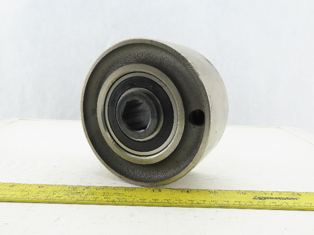 """5-1/2"""" OD x 2-5/8"""" Crowned Face End Pulley 1-1/16"""" Hex Bore"""