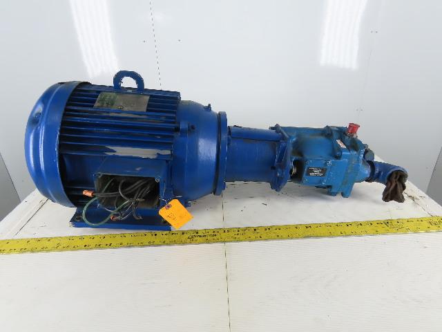 Vickers PVQ45-B2R-SE1S10CD21 15Hp Hydraulic Pump 230/460V 3Ph